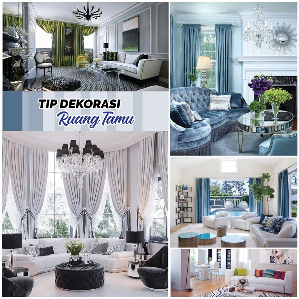 Tips Dekorasi Ruang Tamu Mahligai Idaman Development Sdn Bhd